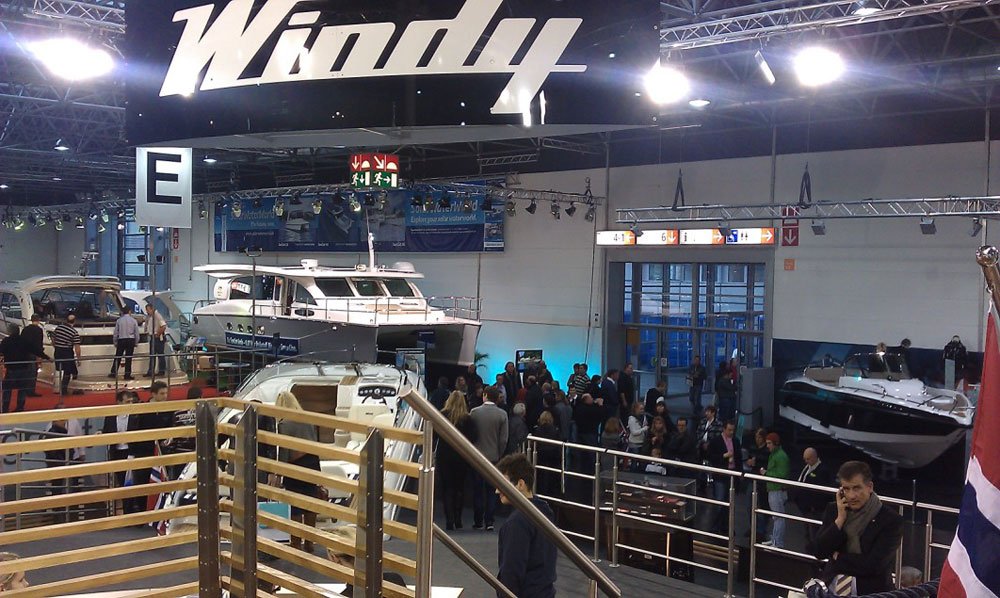 Düsseldorf Boat Show. We were busy at Düsseldorf last month on the Windy ...