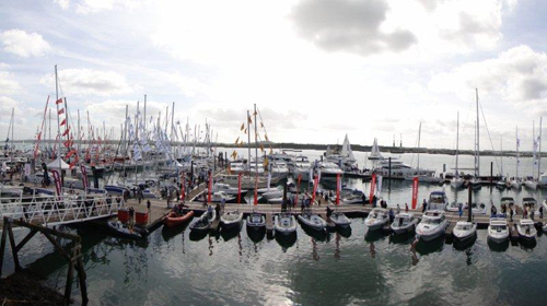 The Southampton Boat Show. Saw the debut of the Windy Zonda 31, ...